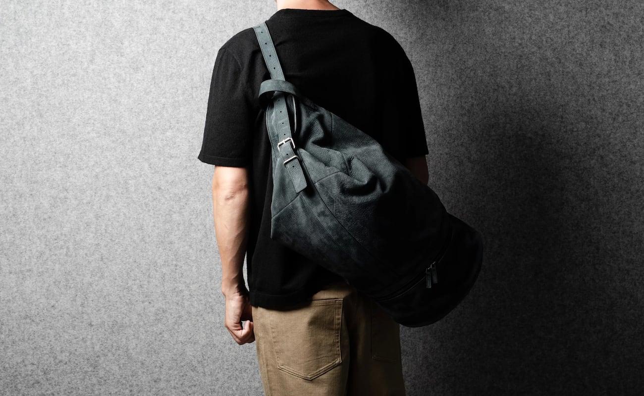 hardgraft Duffle Backpack Satchel Bag has room for all your fun belongings