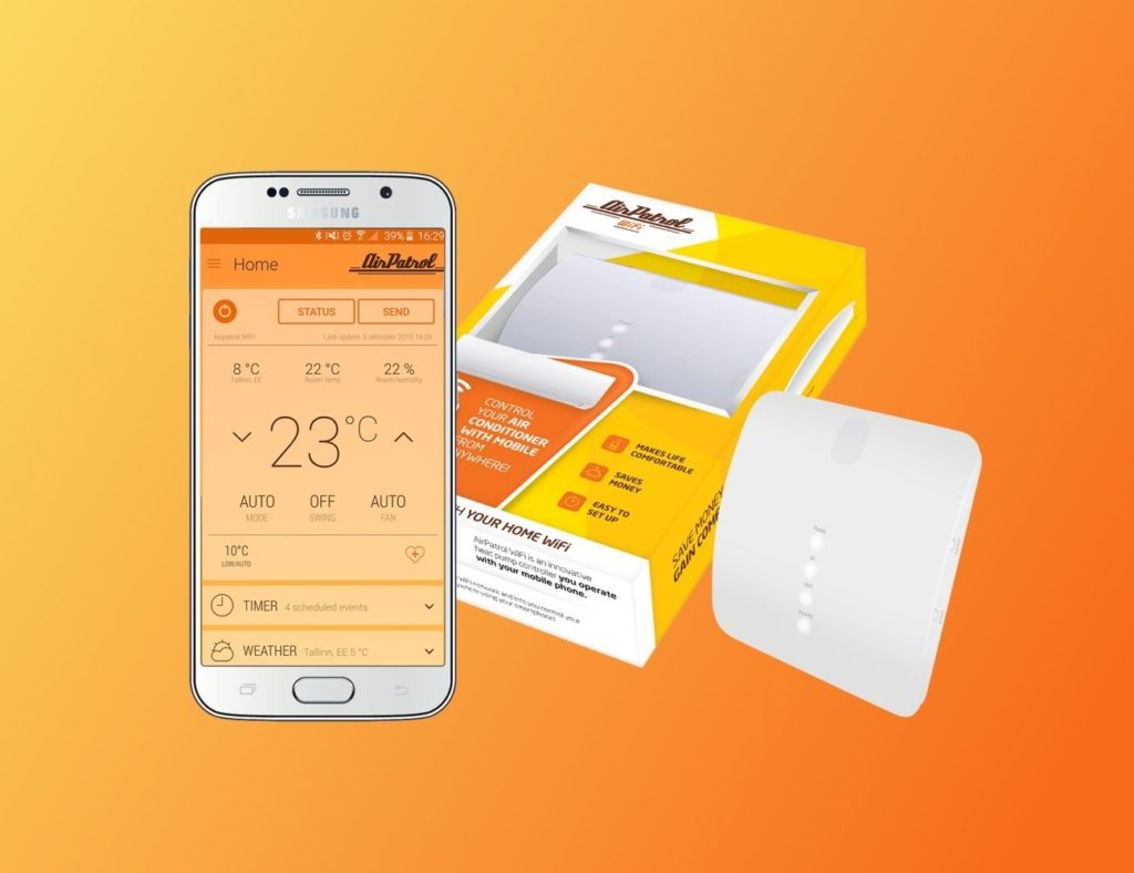 9 Smart home devices for hot summer days - AirPatrol 02