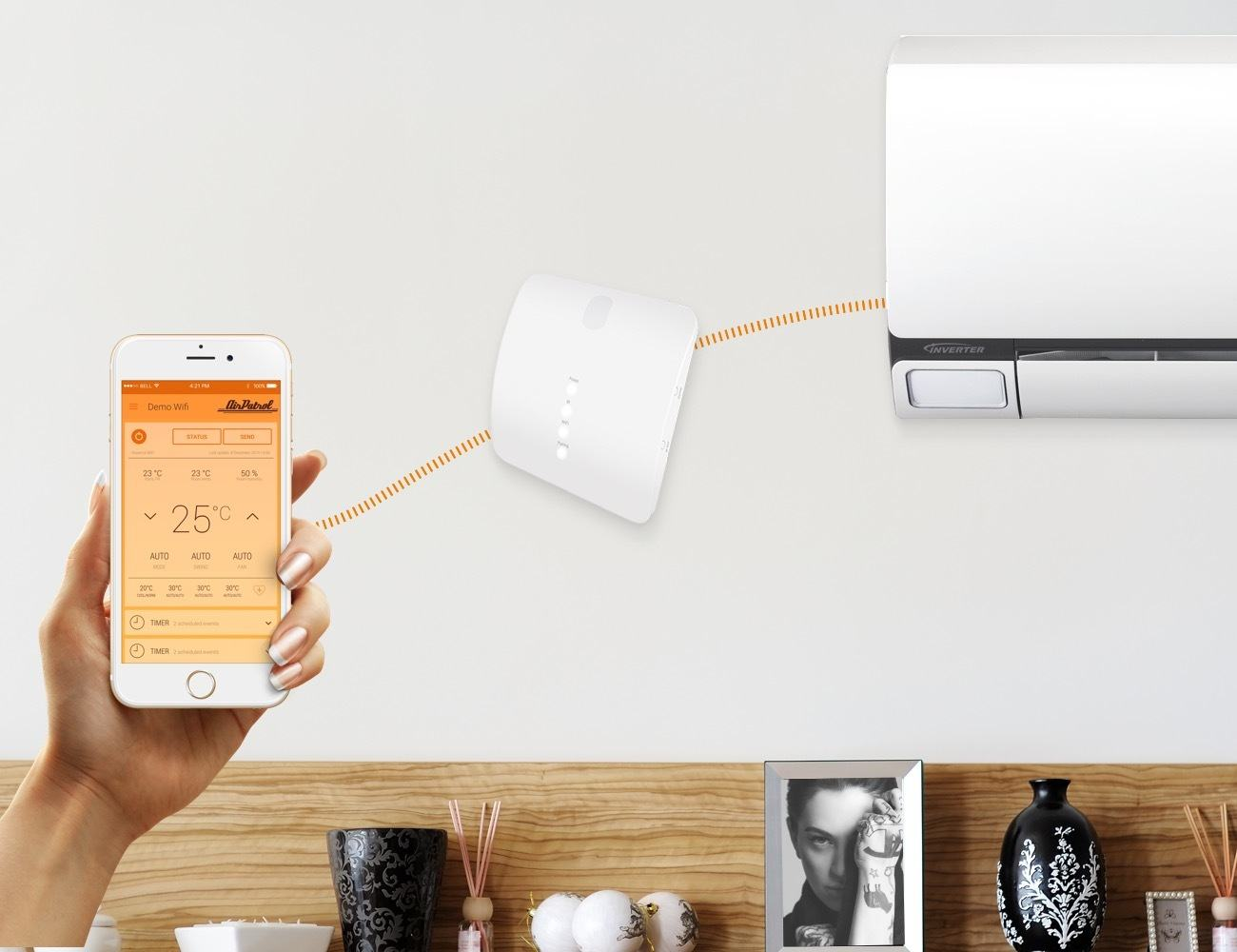 9 Smart home devices for hot summer days - AirPatrol 04