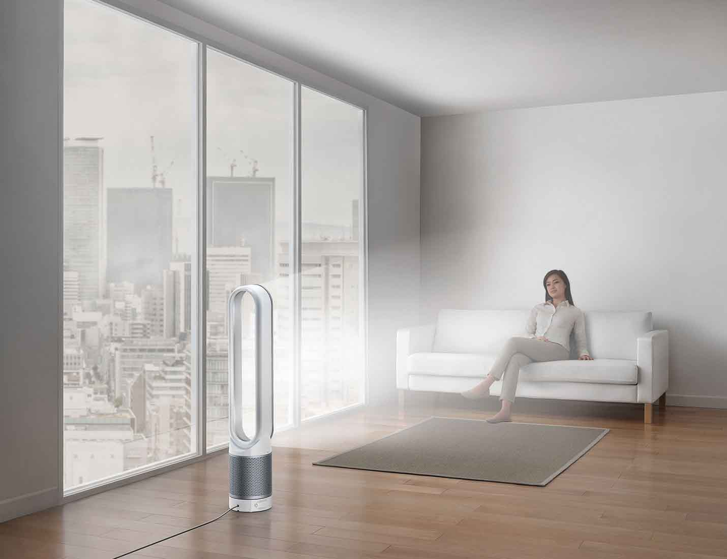 9 Smart home devices for hot summer days - Dyson Pure Cool 01