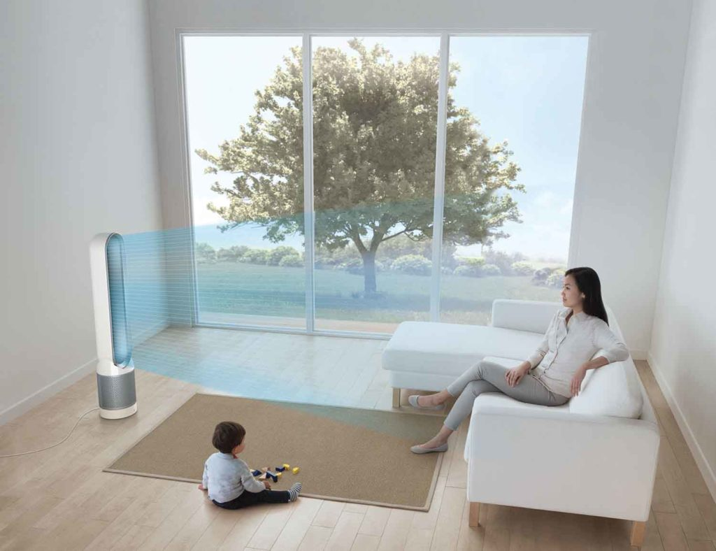 9 Smart home devices for hot summer days - Dyson Pure Cool 03