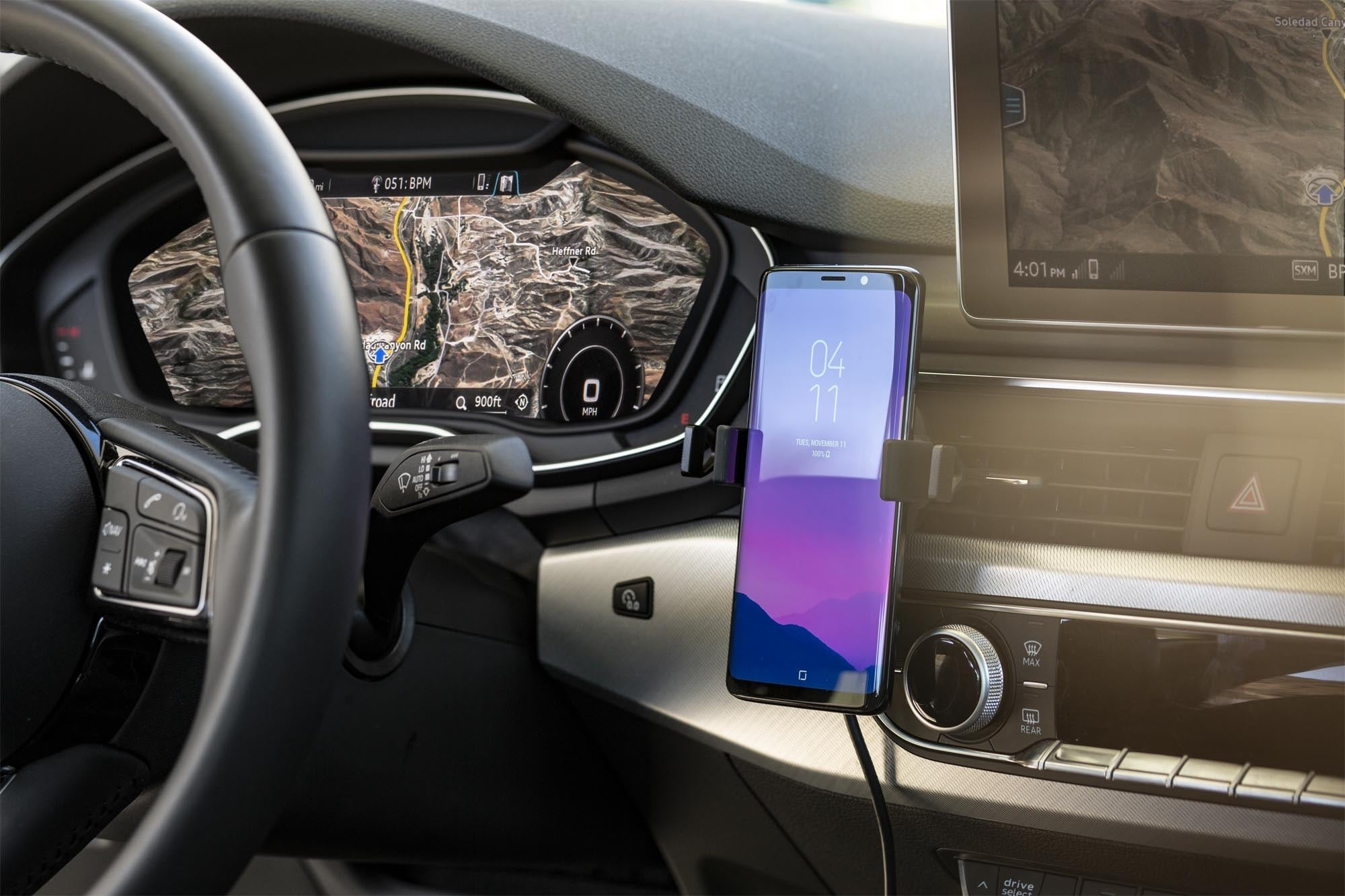 mophie Charge Stream Qi Car Vent Mount