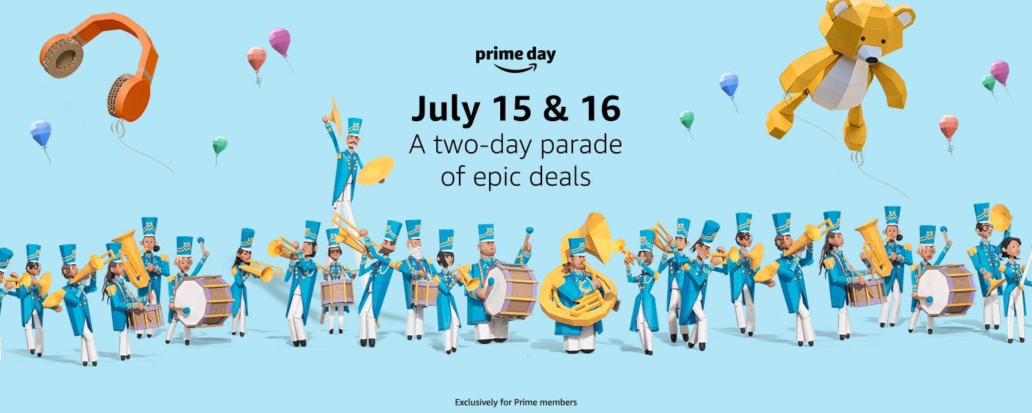 56% off Alexa devices, iPad and Apple Watch up to 30% off, and more from Amazon Prime Day