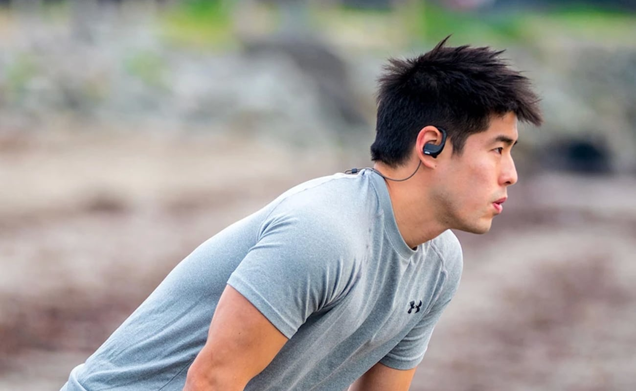ADVANCED Evo X Sports Earbuds don't sacrifice sound quality when you're training hard