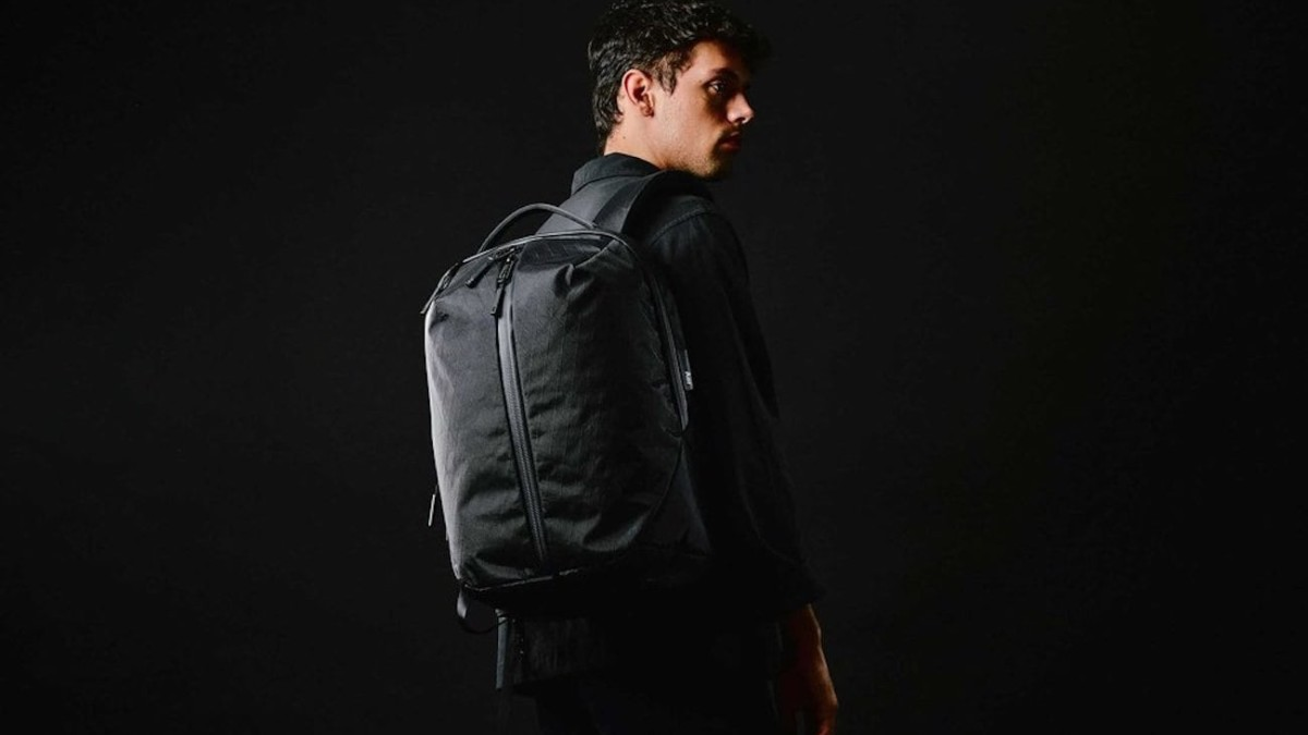 Aer X-Pac Durable Travel Bag Collection uses waterproof sailcloth for strength
