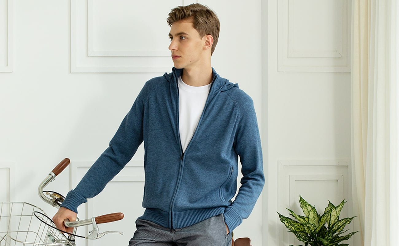Applied Zcience Eco Innovative Hoodie Sweater will be your everyday sweater for years to come
