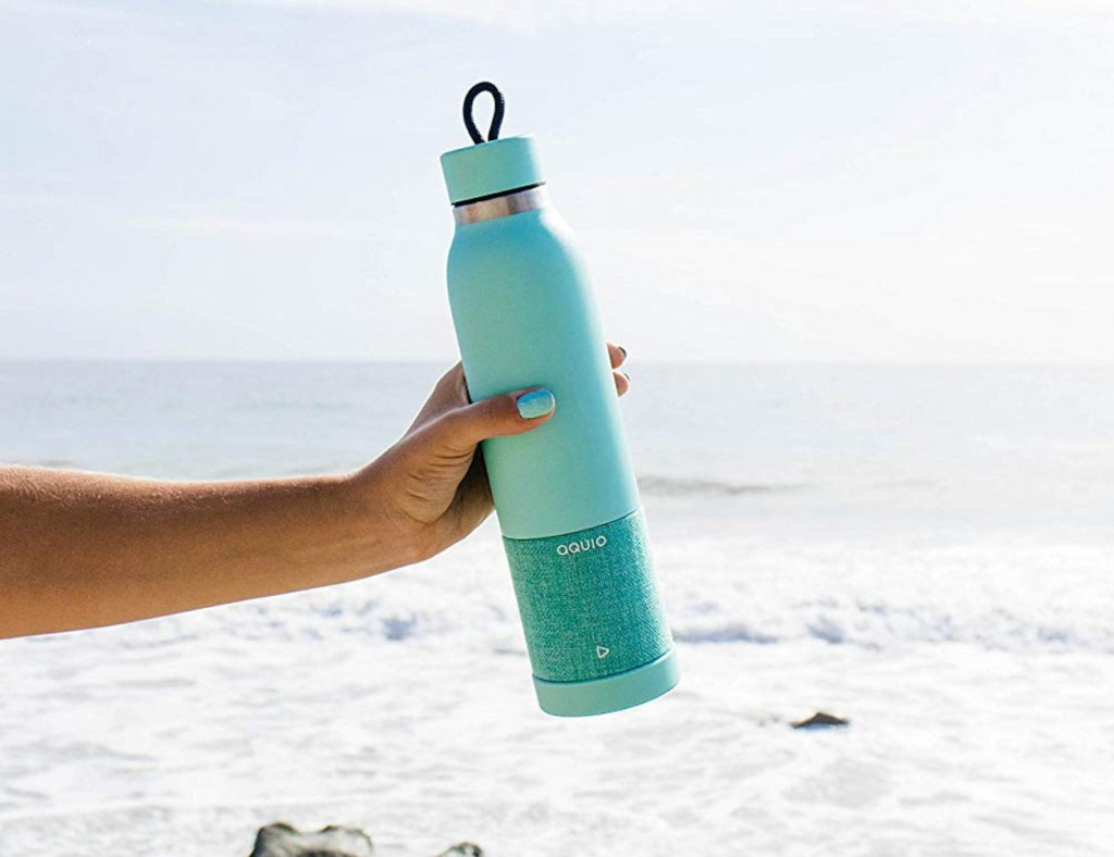Aquio Water Bottle and Speaker