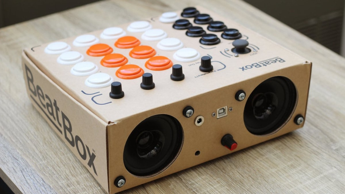 Beatbox by rhythmo DIY Music Production Tool is a cost-effective way to make your own sounds