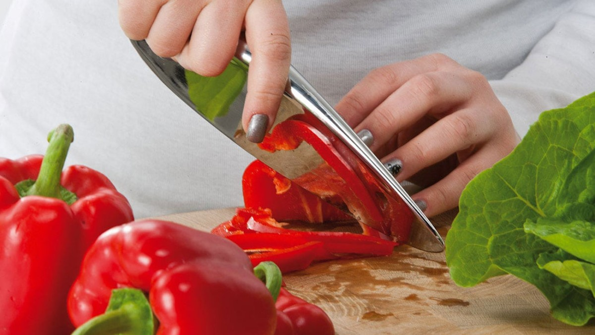 Berkel Primitive Handle-Free Knives are easy to use for precise cuts