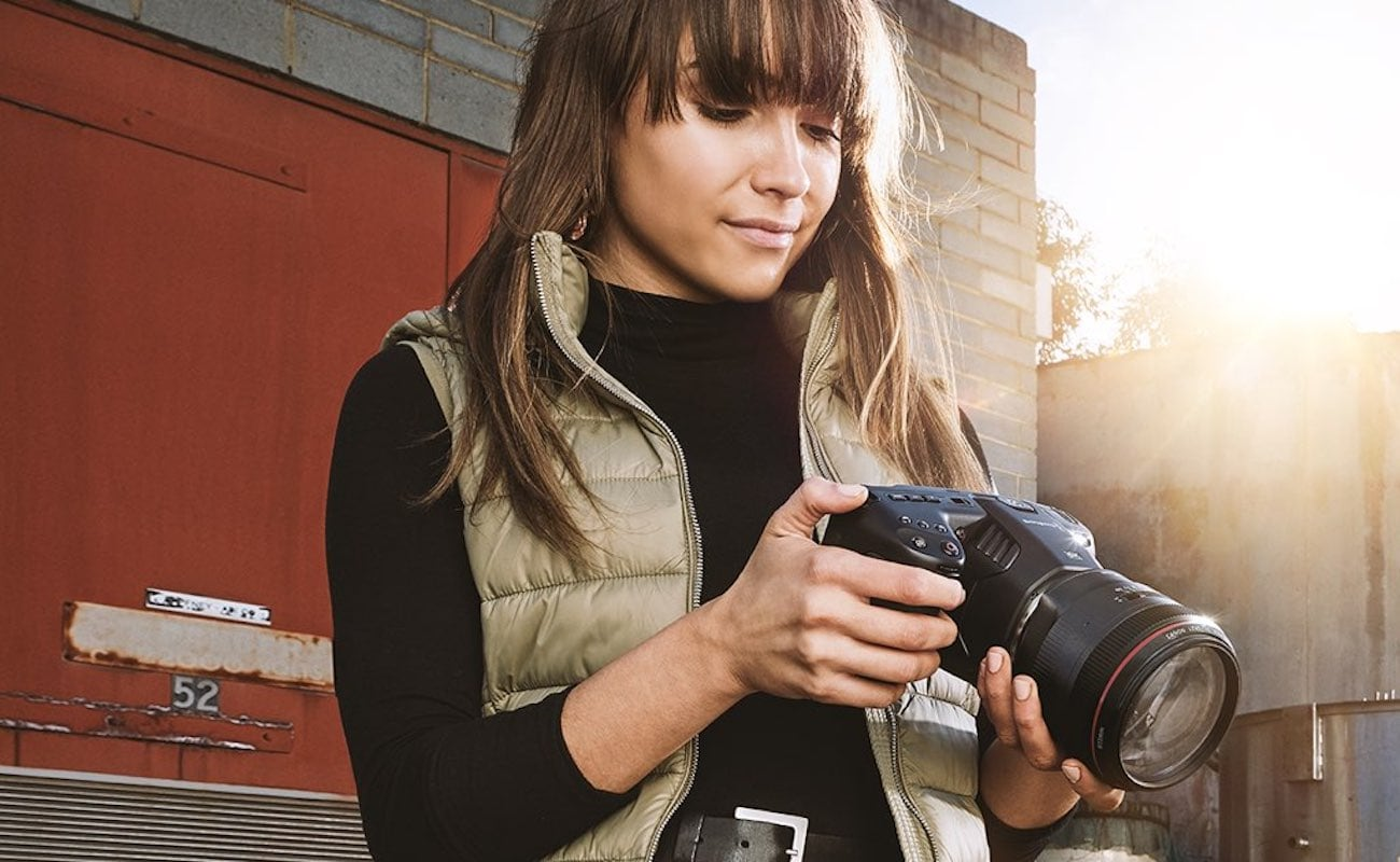 Blackmagic Pocket Cinema Camera 6K Digital Film Camera lets you create professional-looking films