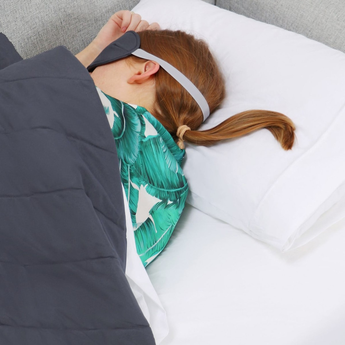 Burrow Sleep Kit Sofa Bedtime Set offers everything your guests need to feel at home