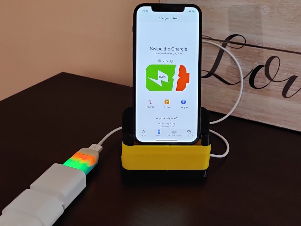 Chargie phone battery lifespan extender draws its inspiration from electric cars
