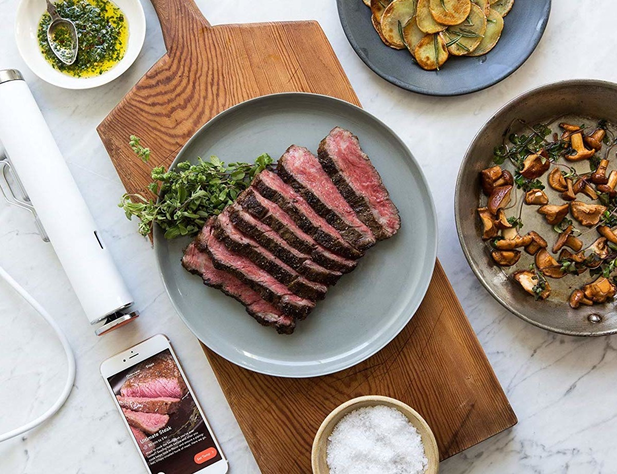 ChefSteps Joule Sous Vide Tool is your kitchen's compact sous chef
