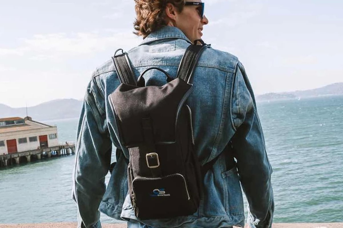 Chill Systems The Chiller's Pack Drink-Cooling Backpack carries up to three bottles of wine