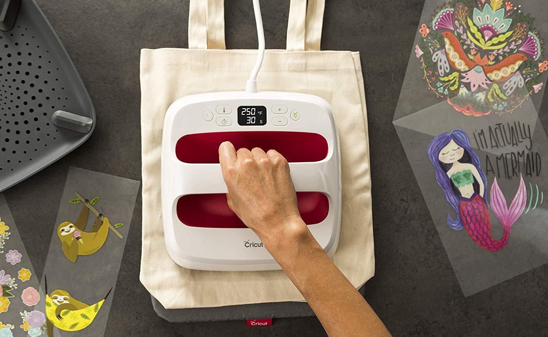 Cricut EasyPress 2 Portable Heat Press lets you make professional prints at home