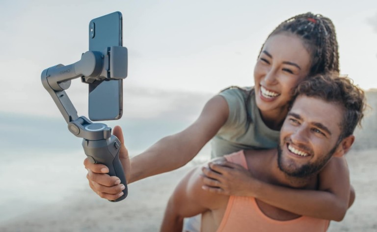 DJI Osmo Mobile 3 Foldable Smartphone Gimbal helps you get stable footage on the go