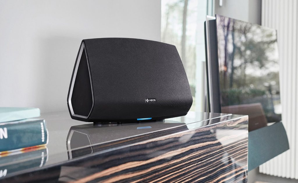 Denon+HEOS+5+Multi-Room+Media+System+plays+music+from+any+source