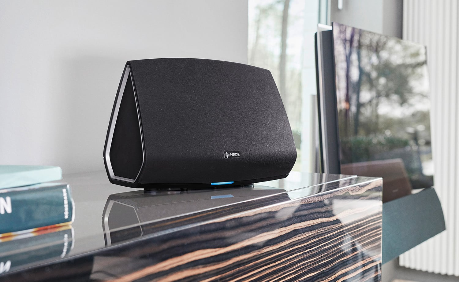 Denon HEOS 5 Multi-Room Media System plays music from any source