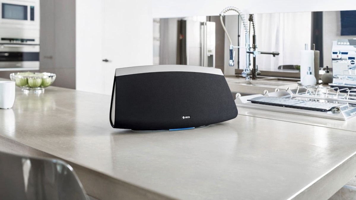 Denon HEOS 7 Large Wireless Speaker will fill your outdoor space with music