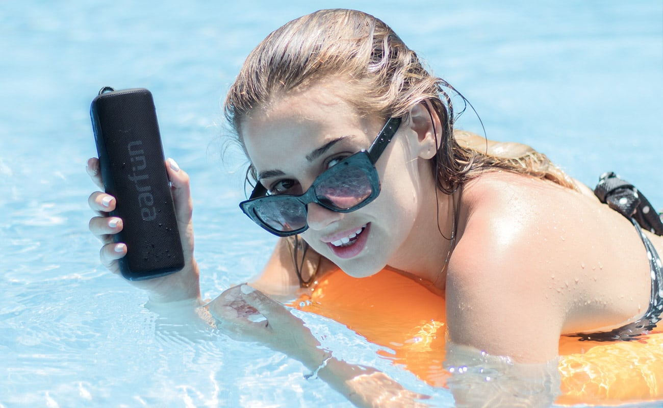 EarFun Go Waterproof Portable Wireless Speaker lets you enjoy music anywhere you want