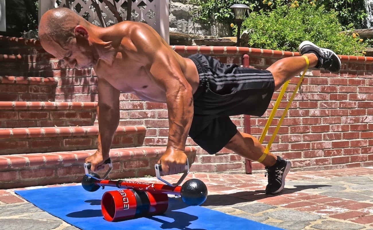 EdgeCross X Intense Home Workout System provides full-body exercises that  will change you