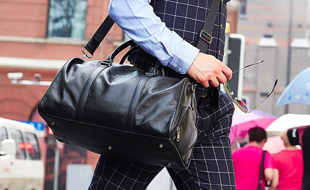 Feger+Genuine+Leather+Travel+Duffle+Bag+is+all+about+style