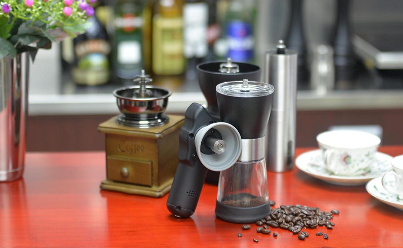 HAMAC Hand Coffee Grinder Energizer instantly transforms your grinder