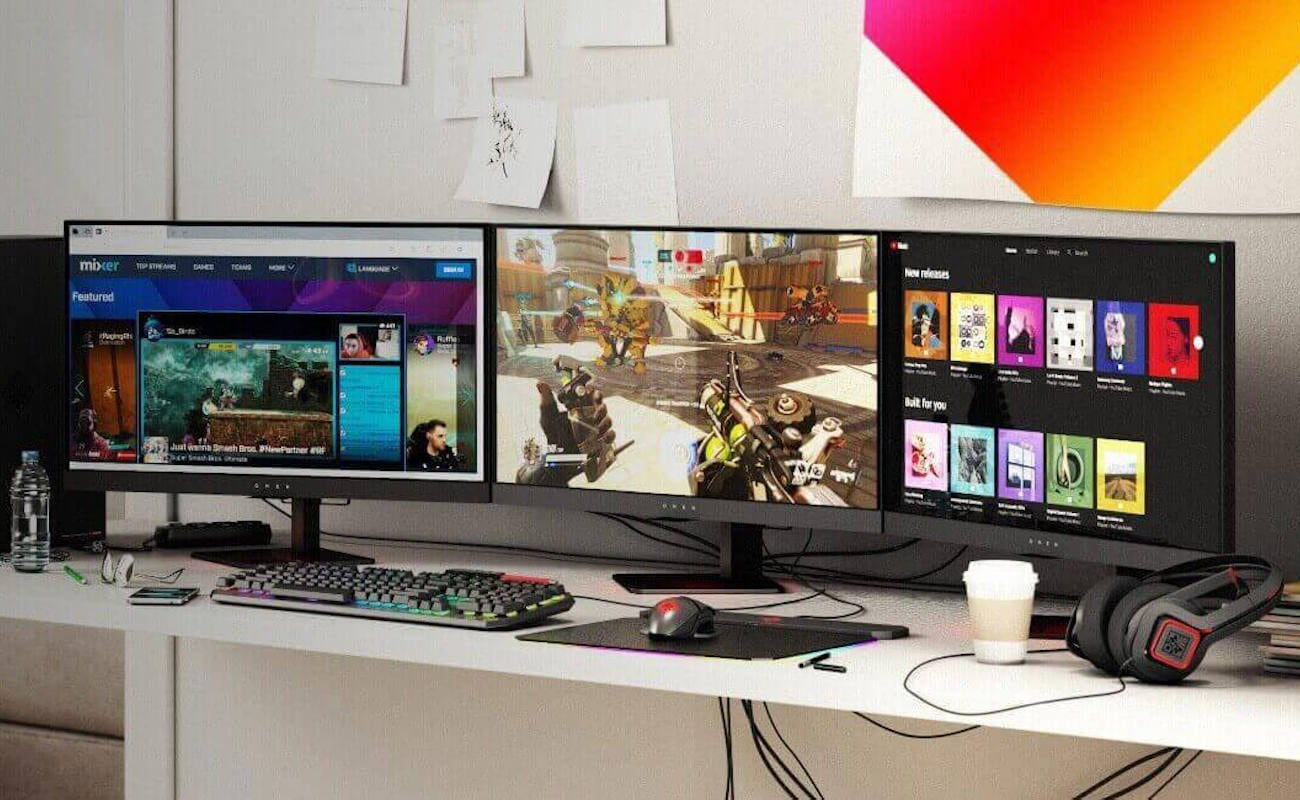 HP OMEN X 27 240Hz 2K Gaming Monitor helps you improve your esports game