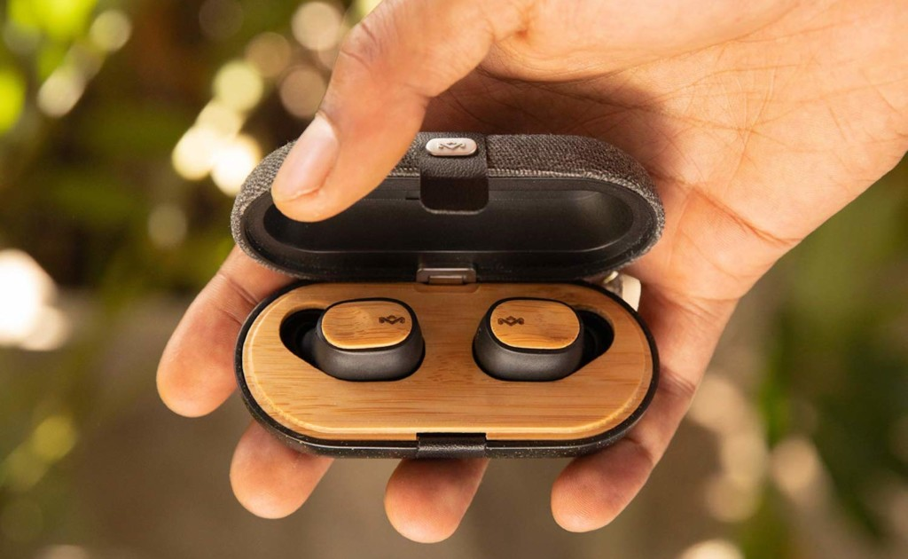 House+of+Marley+Liberate+Air+Sustainable+Wireless+Earbuds+give+you+up+to+32+hours+of+battery+life