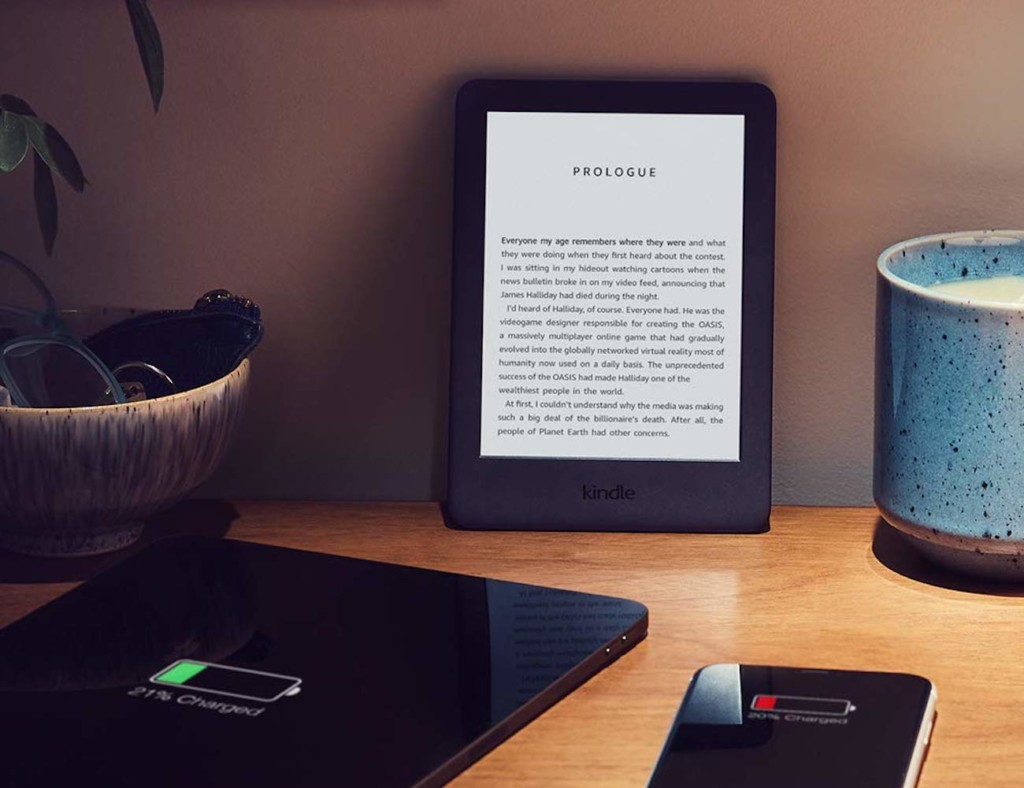 Kindle Built-In Front Light E-Reader