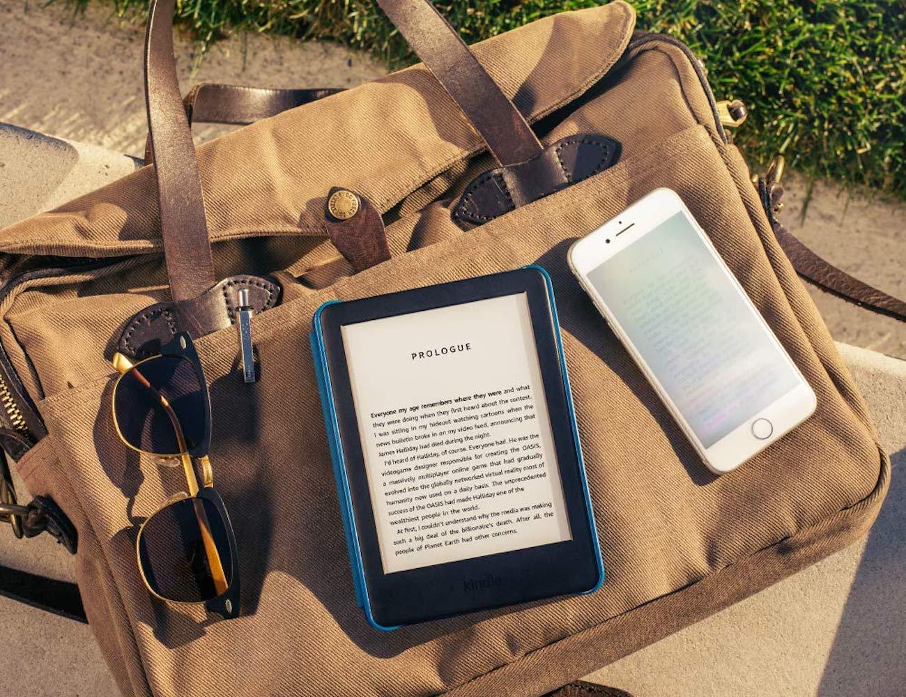Kindle Built-In Front Light E-Reader