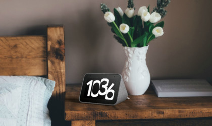 Lenovo Smart Google Assistant Clock