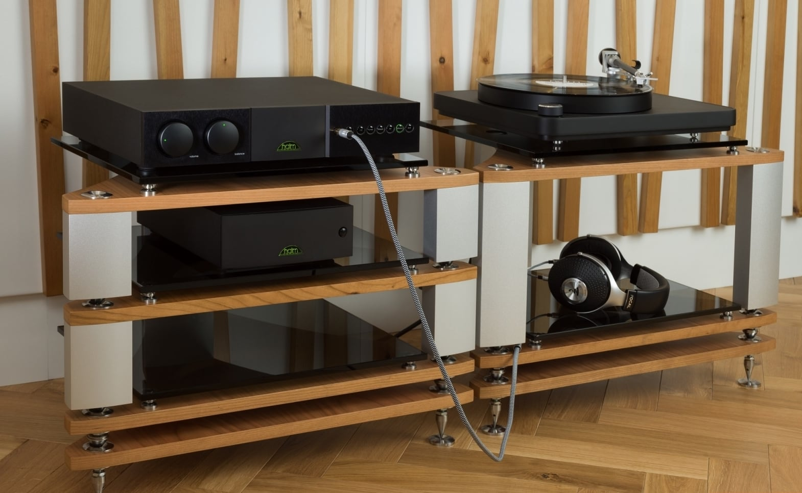 Naim Audio NAIT Integrated Amplifiers are an ideal way to play your vinyl