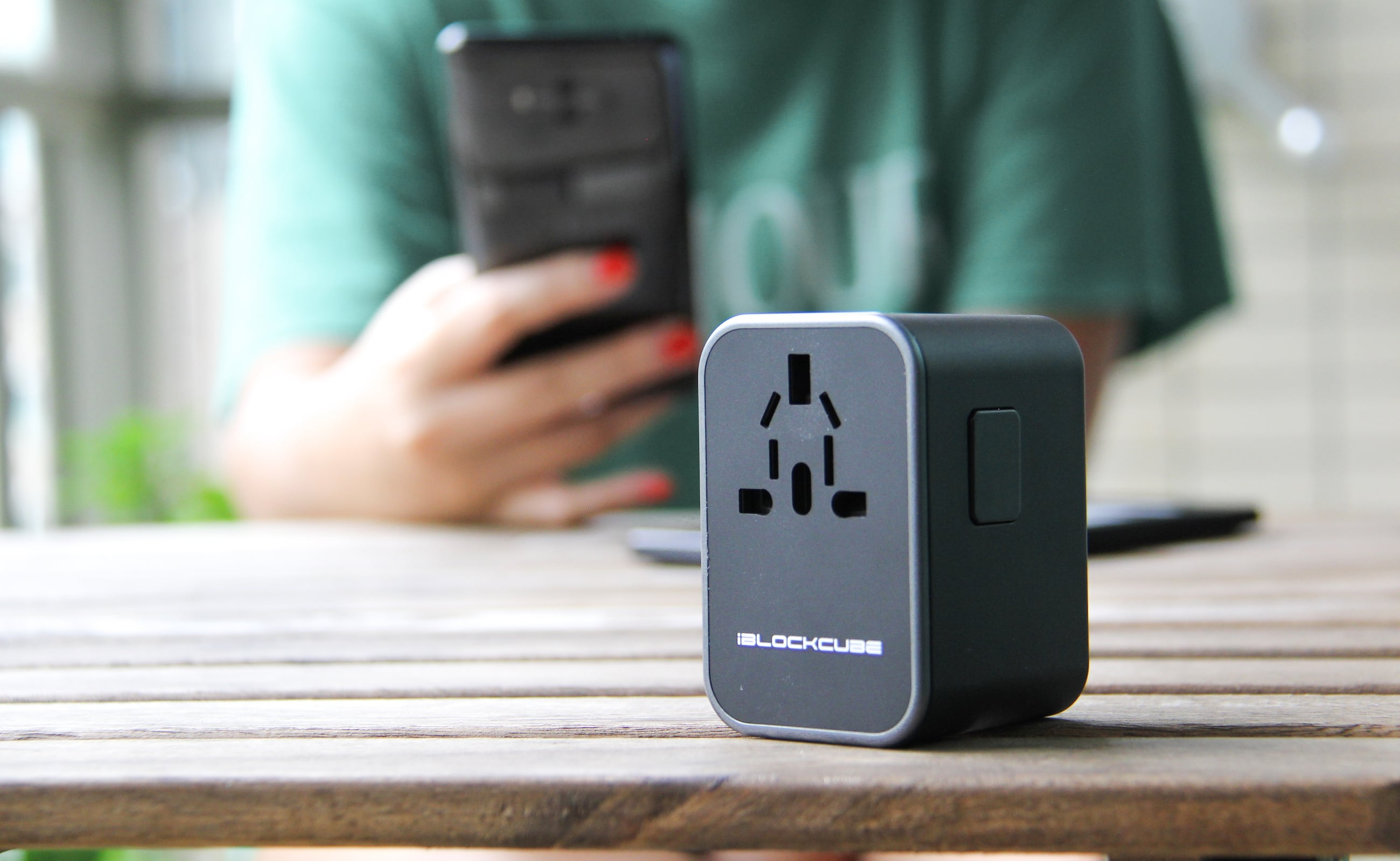 Nimble 35W Universal Travel Adapter charges your devices exceptionally fast