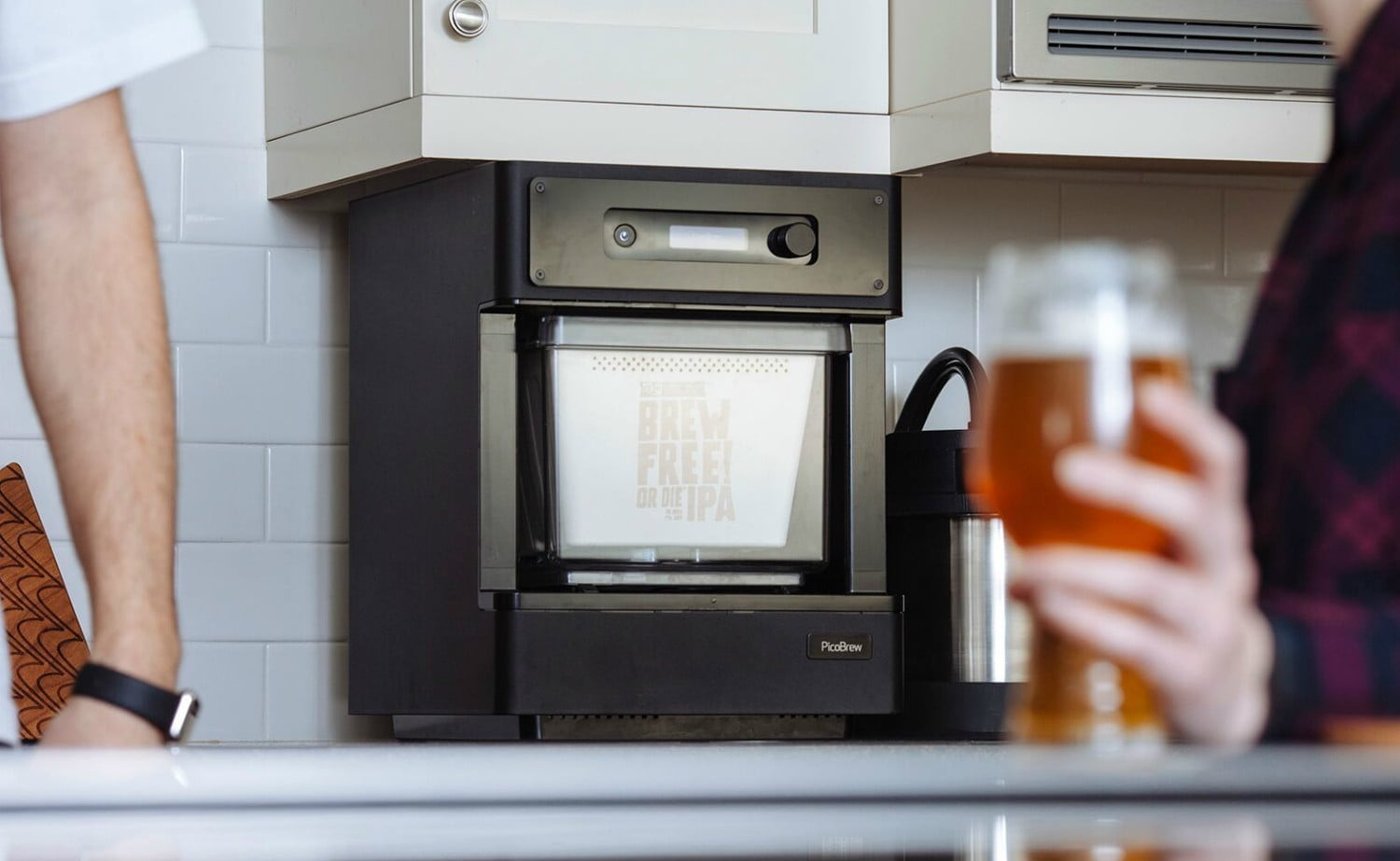 PicoBrew Pico Model C Craft Beer Home Brewer expertly brews your favorite beer at home