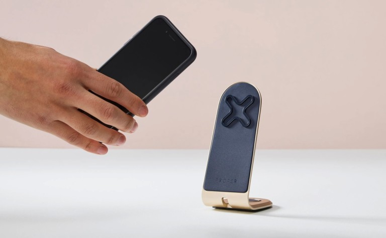Proper iPhone Desk Stand Elegant Smartphone Holder
