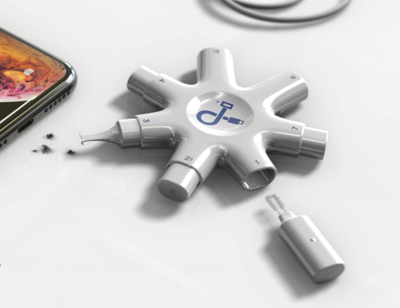 PurePort Cleaning Multi-Tool for iPhone and iPad