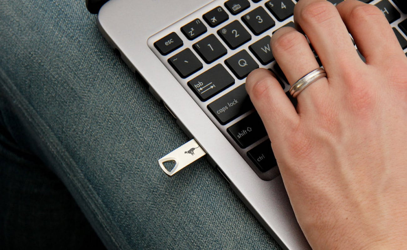Purrtec Computer Key Encryption Device scrambles your information to keep it secure