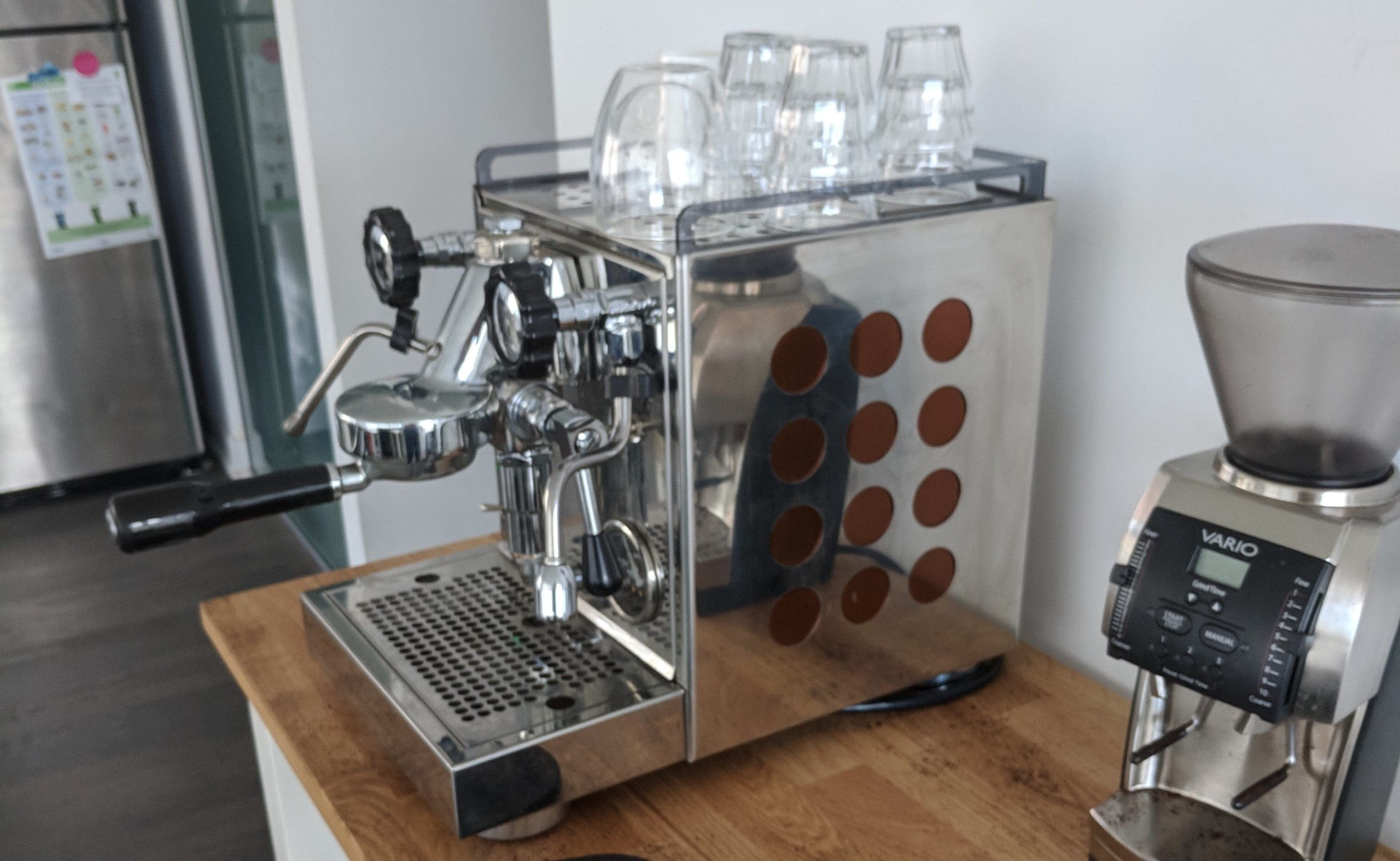 Rocket Espresso Appartamento Compact Espresso Machine brings the coffee shop to you