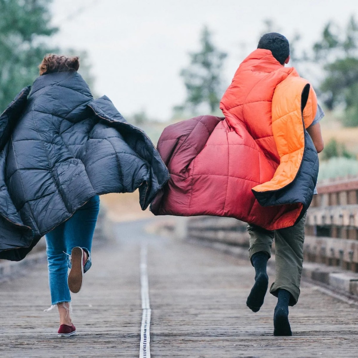 Rumpl NanoLoft Puffy Synthetic Insulated Blanket is a cruelty-free alternative to down
