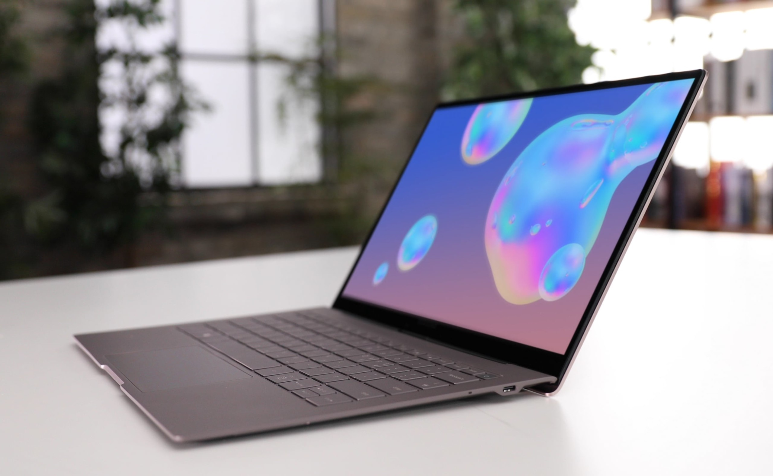 Samsung Galaxy Book S Ultralight Laptop has an LTE chipset so you can work anywhere