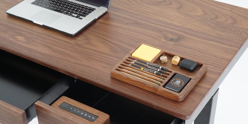 Sean Woolsey Efficiently Designed Smart Desk