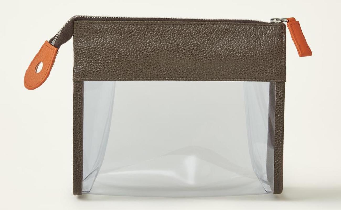 See-Through Travel Toiletry Pouch
