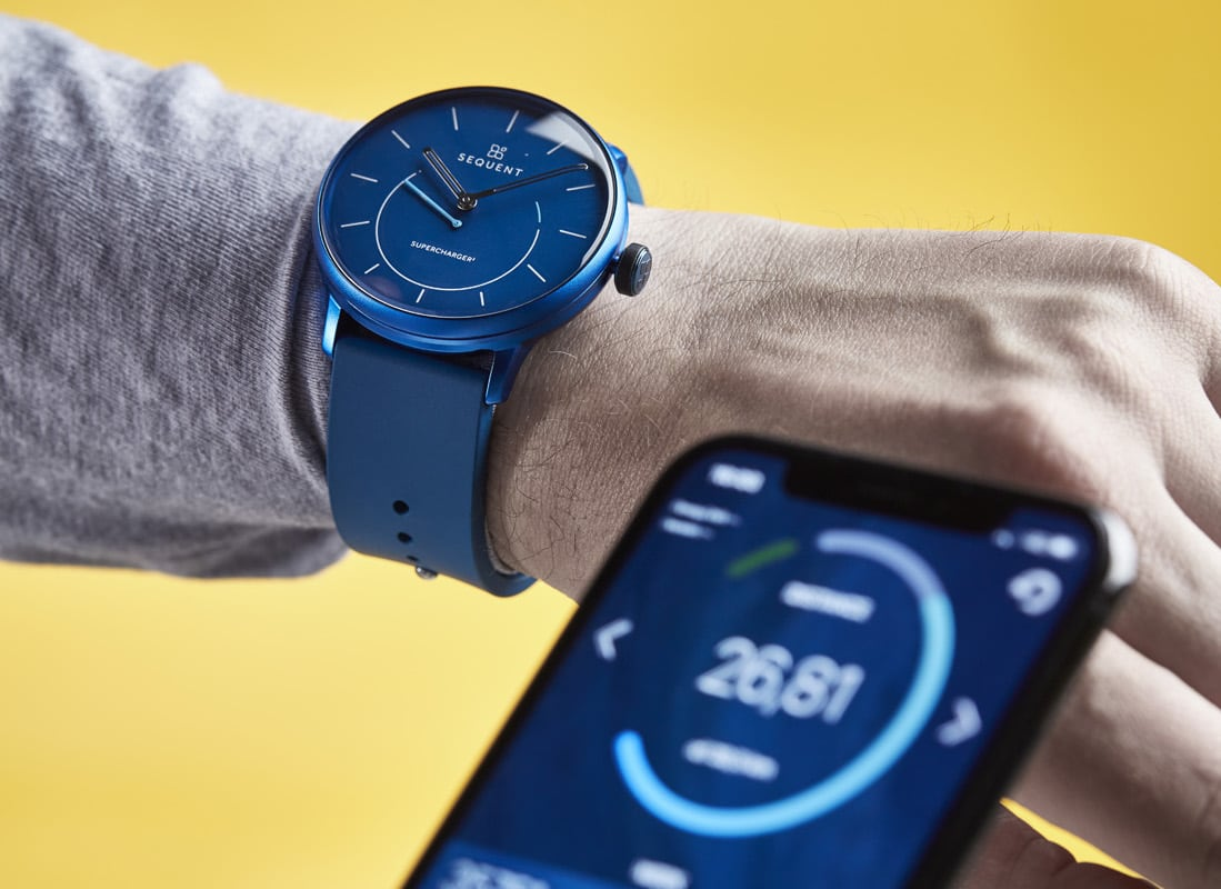 Sequent SuperCharger² Kinetic Smartwatch is exceptionally stylish