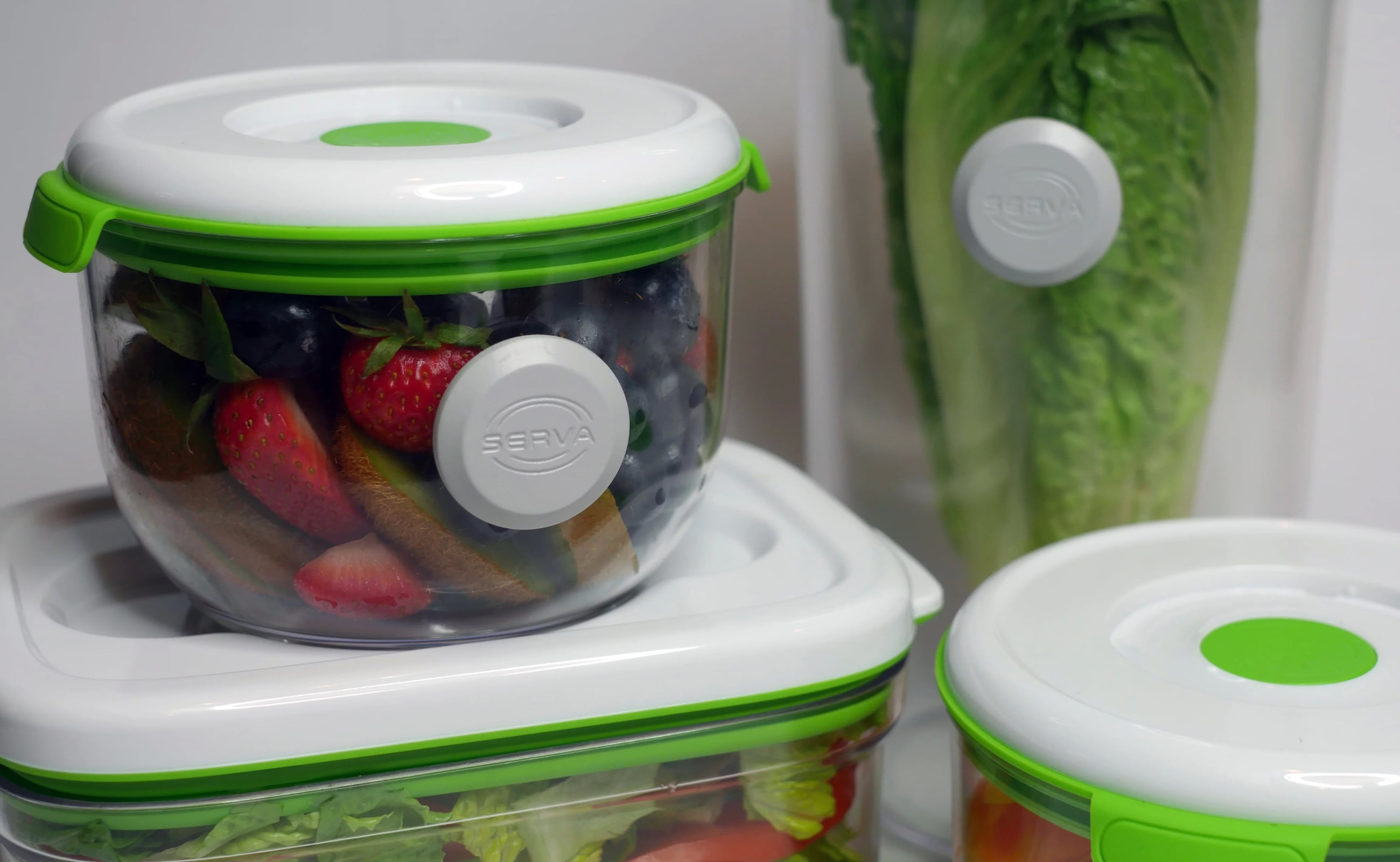 Serva & FOSA® NFC Food Preservation System tracks your food to help you avoid food waste