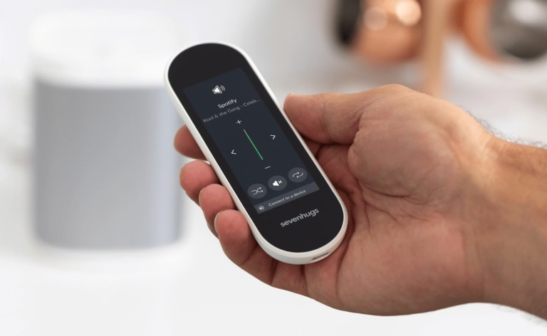 Sevenhugs Smart Remote X all-in-one controller manages all your smart home devices