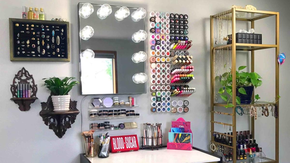 Shadow Rack Modular Makeup Organizer will transform your space