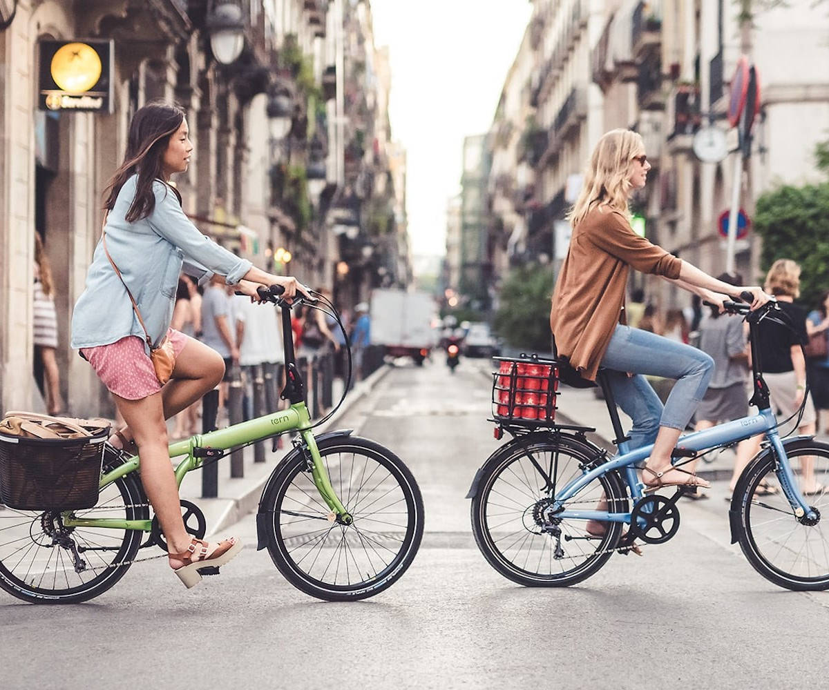 Tern Node D8 Urban Folding Bicycle can be folded up in just 10 seconds