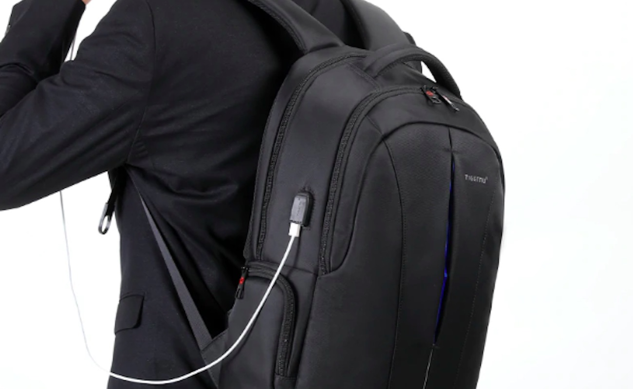 Tigernu Waterproof Laptop Commuter Backpack keeps everything safe and sound