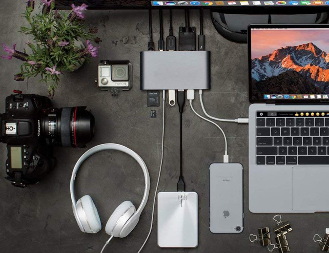 How a USB-C hub can change the way you work for the better - HyperDrive 01